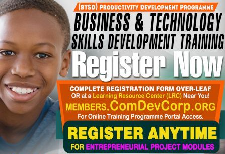 ComDevCorp BTSD & YES Training Programmes