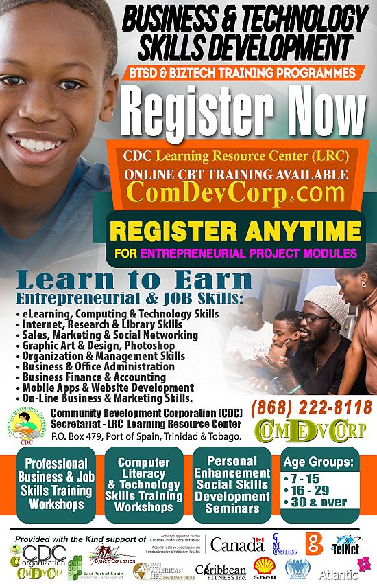 CDC BTSD Business & Technology Skills Training Programmes