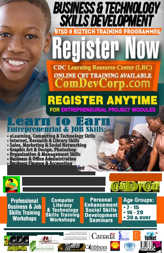 CDC BTSD Youth Entrepreneurship Skills (YES) Training Programme